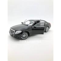 Welly Diecast - Mercedes Benz S Class Skala 1:24 (Hitam)