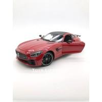 Welly Diecast - Mercedes AMG GT R Skala 1:24 (Merah)