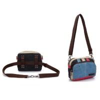 Ts50 Peony 2 Ways Bag / Tas Selempang Dan Tas Pinggang Wanita Travel