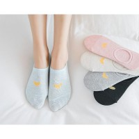 Kk004 Kaos Kaki Pendek Love Wanita Low Socks Kode 976