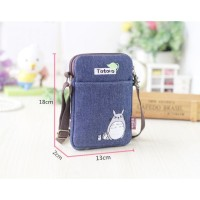 Ts88 Amazing Totoro Jean Sling Bag Ver 2 / Tas Selempang / Cross Body