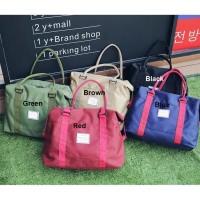 Ts53 Korea Large Capacity Travel Shoulder Bag / Tas Sport Fitness Kode