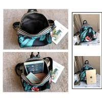 Bp21 Korea Flower Floral Backpack/ Tas Ransel Mini Kode 280