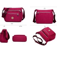 Ts80 Suoyate Eva Nylon Women Sling Bag / Tas Selempang Wanita / Tas