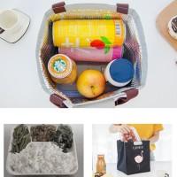 Lb02 Lunch Bag Motif Flamingo / Tas Bekal Cooler Bag Kode 474