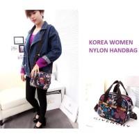 Korea Women Nylon Hand Bag / Tas Selempang Kode 124