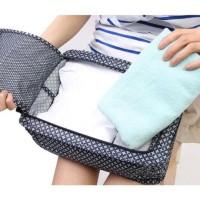 Monopoly Flower Shoes Pouch Travel Ver 3 / Tas Sendal Sepatu / Bag