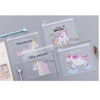 Pf07 Unicorn And Panther A5 Stationery File Folder / Tempat Pensil /