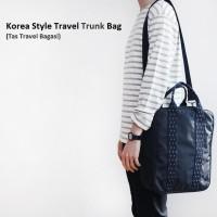 Korea Style Travel Trunk Bag / Tas Selempang / Cross Body / Tas