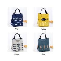 Lb01 Lunch Bag Motif Fish / Tas Bekal Cooler Bag Kode 622