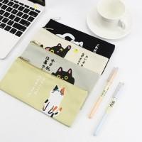 Tp0024 Tempat Pensil Japanese Hello Cat / Tempat Kosmetik Kode 350