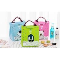 Lb03 Lunch Bag Motif Cartoon Look At Me / Tas Bekal Cooler Bag Kode