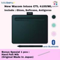 RESMI!WACOM CTL-4100WL Intuos Pen Wireless Black