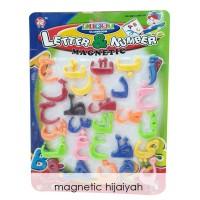 Edufuntoys - Magnetic Hijaiyah - Magnetic Arabic Magnet Kulkas Huruf