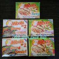 Mi Babi Rasa Goreng Samcam, Goreng Special, Soto Babi, Rawon Babi 90gr