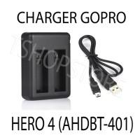 Charger Desktop TERMURAH Go Pro Hero 4 (AHDBT401)