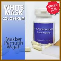 Obat Pemutih Wajah Masker Wajah Colostrum Bikin Glowing Halal|BPOM