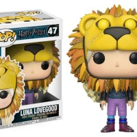 Funko POP! PALING MURAH Harry Potter - Luna Lovegood (Lion Hat) #47
