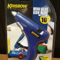Lem Tembak Mini / Krisbow mini Glue gun - Biru