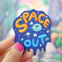 Patch Iron Patch Space Blue