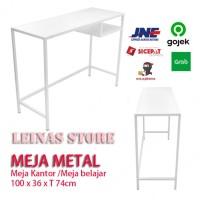 Meja Kerja Metal / Meja Belajar / Meja Kantor Minimalis