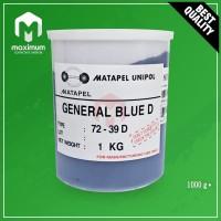 Pigment Pasta Untuk Resin UNIPOL / Pewarna Resin 1 Kg - General Blue D