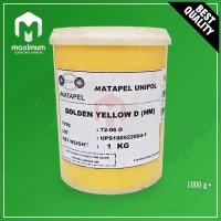 Pigment Pasta Untuk Resin UNIPOL / Pewarna Resin 1 Kg - Golden Yellow