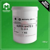 Pigment Pasta Untuk Resin UNIPOL / Pewarna Resin 1 Kg - Super White D