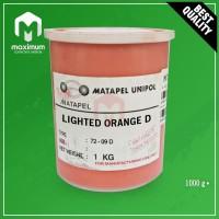 Pigment Pasta Untuk Resin UNIPOL / Pewarna Resin 1 Kg - Lighted Orange