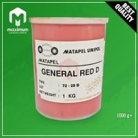 Pigment Pasta Untuk Resin UNIPOL / Pewarna Resin 1 Kg - General Red D