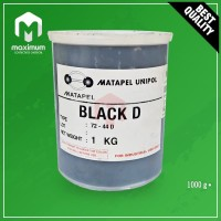 Pigment Pasta Untuk Resin Merk UNIPOL / Pewarna Resin 1 Kg - Black D