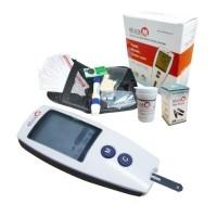 Gluco M Blood Glucose Monitor OneMed set+25 strip Gula
