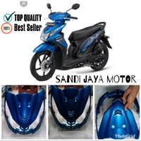 Tameng Depan All New Honda Beat 2013 2015 Biru
