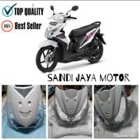 Tameng Depan All New Honda Beat 2013-2015 Putih