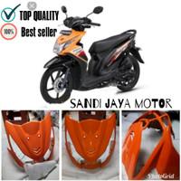 Tameng Depan Honda Beat Fi 2013/2015 Orange/Orens/Oren