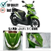 Tameng Depan All New Honda Beat Fi 2013-2015 Hijau