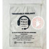 PLASTIK KLIP 25x35, sablon plastik packaging ziplock tanpa gagang