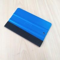 Scraper Rakel Kape Bulu Anti Gores Alat Pasang Sticker Kaca Film