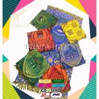 Sajadah Al Qoyum Plastik /Sajadah Tipis/untuk Oleh Oleh Haji dan Umroh