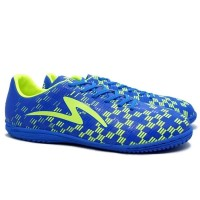 Sepatu Futsal Specs Equator IN - Blue Aster/Safety Yellow