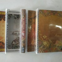 binder A5 folder one batik