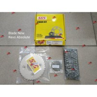 Gear Set Blade New Revo Absolute / Chain Kit Blade New Revo Abs SSS