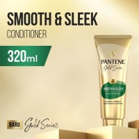 Pantene 320ml Pro-V Gold Series Smooth & Sleek Kondisioner Conditioner