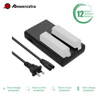 Dual Battery Charger for DJI Osmo, Osmo +, Osmo Pro/RAW, Osmo Mobile
