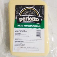 Keju Mozarella Perfetto 250gr