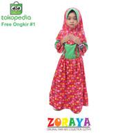 Qanita Gamis Syari Anak Perempuan 4 5 6 Tahun Baju Muslim Dress Hijab