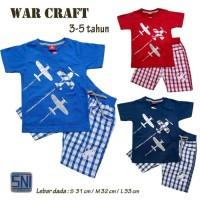 Baju Setelan Anak Bayi Laki-laki Atasan Kaos dan Celana Soft Jeans