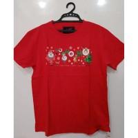 Kaos LCC Hoho Merah Megasize