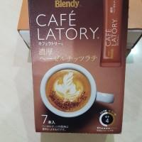 AGF Blendy Cafe Latory Rich Hazelnut Latte isi 7 Pcs