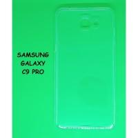 Softcase Samsung C9 / C9 Pro - Casing Ultrathin Soft Case Transparan